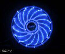 Akasa AK-FN091-BL 120mm Vegas Blue LED Case Fan