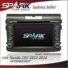 """7"""" SPARK GPS DVD SAT NAV IPOD BLUETOOTH USB NAVIGATION FOR HONDA CRV 2012-2014"""