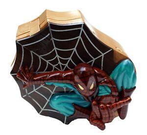 Spiderman Handmade Intarsia Puzzle Box