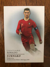 2018 Futera Unique Football Soccer Card Portugal CRISTIANO RONALDO Mint