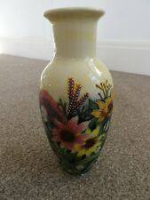 SUNFLOWER FLORAL DESIGN VASE,OLD TUPTON WARE.NEW +BOX.CRAZY CLEARANCE
