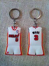 PORTACHIAVI vintage basket NBA jersey maglia WADE #3 Miami HEAT