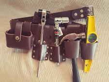New Scaffold Strong Black Leather Tool Set Belt + 4PCS ScaffoldingTools UK Sale