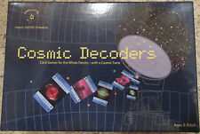 Cosmic Decoders Family Astro Card Game Science Outer Space Kids Educational