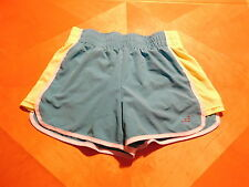 BCG Size Medium (8-10) Athletic Shorts  Blue/White/Yellow