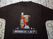 Large- NWOT Newcastle Brown Ale Front And Back Print T- Shirt