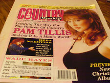 Pam Tillis Covers Country Weekly Magazine 1995 Wade Hayes Reba McEntire