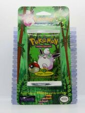 New listing 1999 Pokemon Jungle Set Sealed 11-Card Booster Blister Pack Wigglytuff (A) A45
