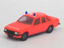 "Opel Rekord Berlina 2,0 E ""Feuerwehr 4/050"" in leuchtrot, o. OVP, Herpa, 1:87"