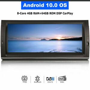 Android 10.0 Head Unit BT DAB+Radio GPS Nav For BMW 5 Series M5 Range Rover L322
