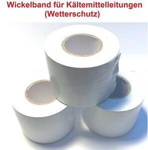 Wickelband, UV und Wetterschutz Kältemittelleitungen, 20 m Rolle, 5 cm breit