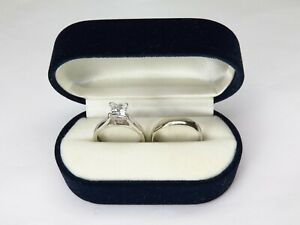 18ct Gold REDUCED Wedding Ring Set With Engagement/Solitaire Ring In 9ct