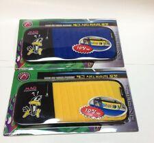 FOURING MAG AUTO CAR 10 CD DVD DISKS VISOR POCKET HOLDER CASE W/STRAPS CM105/6