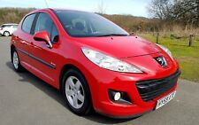 2009/59 PEUGEOT 207 VERVE 1.4 HDI 70 RED 5DR DIESEL CHEAP TAX £30PA LOW MILEAGE
