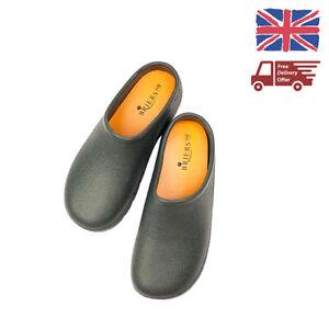 Briers Green Garden Clogs Waterproof Outdoor Hard Wearing Boots Shoes UK 4 - 12