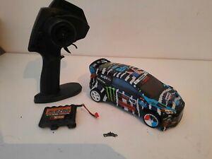 Hpi Micro Rs4 Fiesta Ken Block Zebra Livery