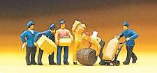 Preiser 10016 Delivery men with loads Miniature figures H0 1/87