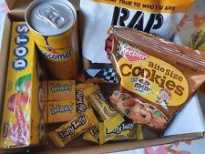 American Snack, Sweets & Drinks Gift Box! -Nerds, chocomel dots rap snacks