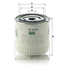 Mann Oil Filter Spin On For Ford Capri 2.8 Super Injection 3000 3.0