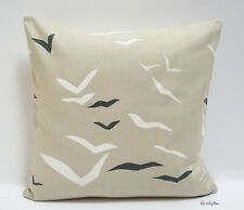"Scion Flight Linen Chalk Gull Cushion Cover  16"" x 16"""