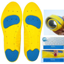 Silicone Insole Work Boots Shoe Gel Insole Active Shock Massaging Sports Running