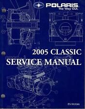 2005 POLARIS SNOWMOBILE CLASSIC SERVICE MANUAL P/N 9919301 (668)
