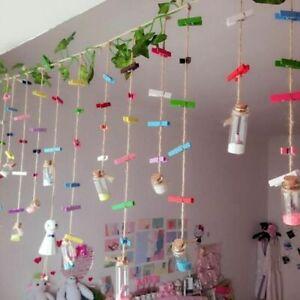 100 Pcs Mini Wooden Photo Clips Clothespins Diy Party Wedding Decor Accessories