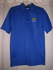 Best Buy Employee Uniform Blue Polyester Short Sleeve Polo Shirt 2017 Large L
