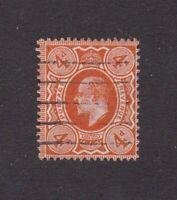 Great Britain stamp #144, used, 1909 - 1910, KEV II  SCV $16.00