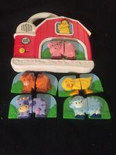 Leap Frog Fridge Phonics Farm Barn Animal Matching Game Complete Batteries Incl