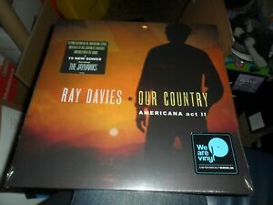 RAY DAVIES. OUR COUNTRY DOUBLE VINYL ALBUM WITH DOWNLOAD NEW SEALED