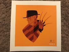 FREDDY KREUGER Nightmare On Elm Street dream/'d art silkscreen print Tom Whalen