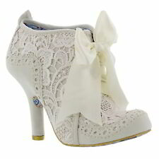 Bridal or Wedding Block Irregular Choice Shoes for Women