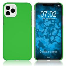 Hardcase Apple iPhone 11 Pro Max rubberized green Cover Case