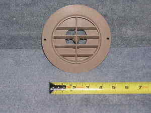 RV Camper Trailer Van Rotating Heat Air Wall Ceiling Duct Grille Trim AC Vent