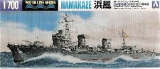 "DESTROYER JAPONAIS ""HAMAKAZE"", 1942 - KIT AOSHIMA 1/700 n° 034088"