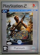 MEDAL OF HONOR RISING SUN - PLAYSTATION 2 - PAL ESPAÑA - COMPLETO