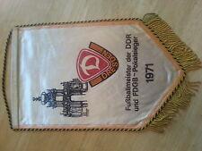 W87 WIMPEL SG 1.FC DYNAMO DRESDEN DDR Oberliga Sport Fußball DFB DFV Ultras RAR