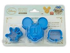 Disney Mickey Mouse 3 emporte-pièces et 1 Stamp Mold