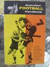 Australian Football Handbook by Bruce Andrew Vintage 1960s Guide Ted Whitten