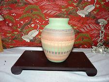 Beautiful Navajo Vase Jar Vintage signed by Cindy