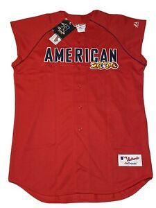 MLB ASG Authentic Derek Jeter 2000 All Star Jersey New York Yankees MVP Size XL