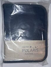UNITED AIRLINES 2017 POLARIS BUSINESS CLASS Amenity Kit - New, sealed