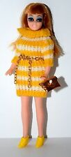 HTF Rare Topper Dawn Doll Clone Mego Dizzy Girl, Original Dress, Shoes,.. Lot B2