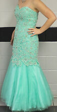 Gorgeous  *Tiffany* Green mermaid Sequin Prom/Homecoming dress sz 6 *REDUCED*