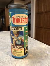Vintage Tinkertoy Tinker Toy No. 116 Wooden
