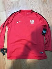 Nike Soccer FC Barcelona Dry Squad LS Top Size XL BNwT 919911-691 Pink