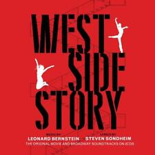 WEST SIDE STORY - MOVIE AND BROADWAY OST - VARIOUS ARTISTS (NEW SEALED 2CD)