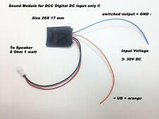 US Diesel Horn Sound Module for 21 pin MTC, DCC Marklin ESU Decoder NO Speaker