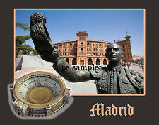 Spain - MADRID - Arena - Bull Ring - Refrig Magnet